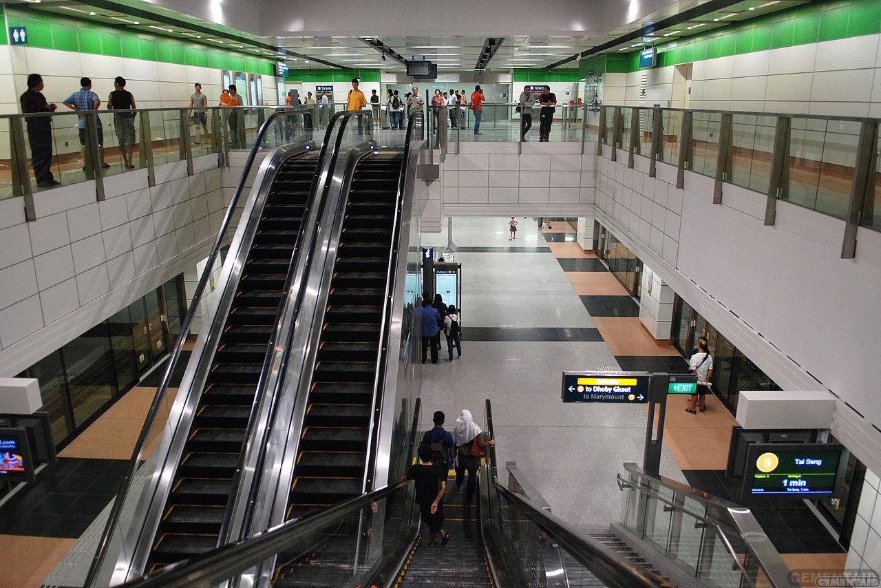 新加坡-达科达地铁站