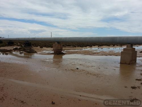 南澳大利亚-圣文森特海湾潮汐盐溪水管