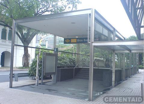 新加坡-百胜地铁站