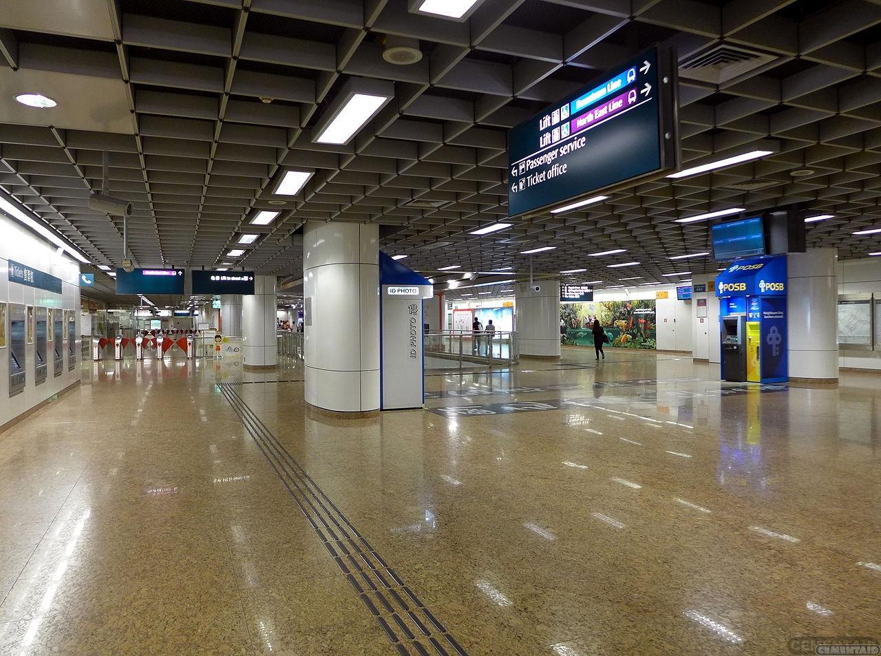 新加坡-牛车水地铁站